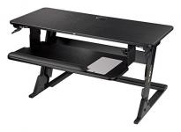 3M Precision Standing Desk, Convert Desk to Sit Stand Desk