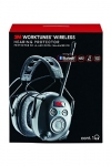 3M Worktunes Bluetooth Hearing Protection with AM/FM Radio, Black and Grey