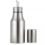 Anself Oil Bottle Dispenser Stainless Drop Sauce Bottle