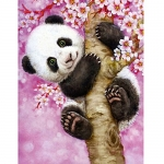 5D Diamond Painting by Number Kit, Panda
