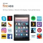 All-New Fire HD 8 Tablet | 8″ HD Display, 16 GB, Black