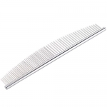 7 1/2 Inch Pet Stainless Steel Grooming Comb, Curve Comb