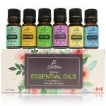 Blackstone 100% Pure Canadian Essential Oils Set of 6/10ml