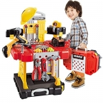 82 Pieces Kids Pretend Power Workbench