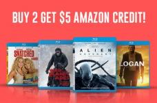 HUGE SAVINGS on Movies + $5 Amazon Credit!