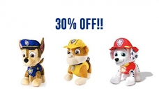 PRICE DROP on Paw Patrol Talking Plush Toys