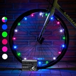 Activ Life 2-Tire Pack LED Bike Wheel Lights with Batteries Included