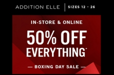 Addition Elle Boxing Day Sale