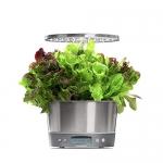 AeroGarden Harvest Elite 360 – Stainless Steel w/Heirloom Salad Greens Seed Kit