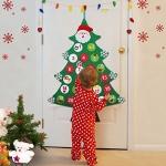 AerWo Felt Chirstmas Tree Advent Calendar