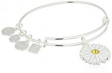 Alex and Ani Charity By Design, Daisy Bangle Bracelet