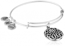 Alex and Ani Path of Life III Expandable Rafaelian Bangle Bracelet
