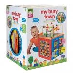 ALEX Toys – ALEX Jr. My Busy Town – Baby Wooden Developmental Toy 4W