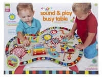 ALEX Toys – Junior Sound and Play Busy Table Baby Activity Center