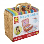 ALEX Toys – Pretend & Play Tea Set Basket
