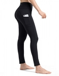 ALONG FIT Yoga Pants with Side Pockets