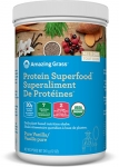 Amazing Grass Organic Plant Based Vegan Protein Superfood Powder, Flavor: Pure Vanilla, 341g