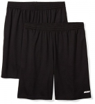 Amazon Essentials mens (2)-pack Performance Mesh Shorts