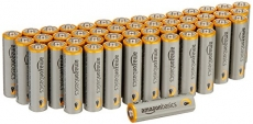 AmazonBasics AA Performance Alkaline Batteries (48 Count) – Packaging May Vary