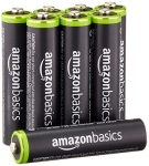 AmazonBasics AAA Rechargeable Batteries (8-Pack) Pre-charged – Packaging May Vary