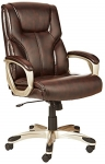 AmazonBasics High-Back Executive Chair – Brown