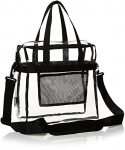 AmazonBasics Stadium Approved Tote, Clear