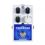 ammoon Effect Pedal POCKECHO Delay & Looper Guitar Effect Pedal 8 Delay Effects