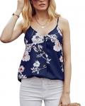 Ancapelion Women's V Neck Button Down Sleeveless Summer Tank Top