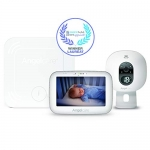 Angelcare 3-in-1 Baby Monitor, with Breathing Movements Tracking, 5'' Video