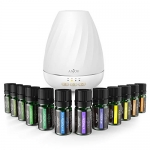 Anjou Aromatherapy Essential Oil & Diffuser Gift Set