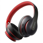 Anker Soundcore Life Q10 Wireless Bluetooth Headphones, Black/Red