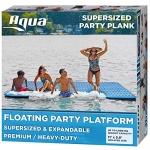 Aqua Super-Sized Floating Platform Plank, 1,000 Lbs. Capacity