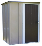 Arrow Shed Brentwood 5-Feet by 4-Feet Steel Storage Shed