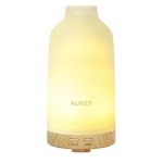 AUKEY Essential Oil Diffuser with Frosted Glass Cover, 100ml
