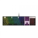 AUKEY Mechanical Keyboard with Blue Switches, 104-key RGB Backlit, Customizable with 9 Presets