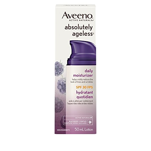 Aveeno Absolutely Ageless Face Daily Moisturizer, SPF 30, 50 mL