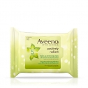 Aveeno Positively Radiant Facial Cleansing Wipes, 25 Count