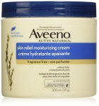 Aveeno Skin Relief Moisturizing Body Cream, Fragrance Free, 311g