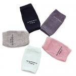 Baby Crawling Socks Anti-skip Kneepad Protector for Toddler (5 Pairs)