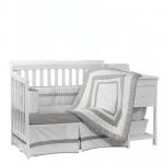 BabyDoll Modern Style Crib Bedding Set