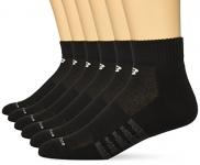 New Balance Men's Core Cotton 6 Pack Quarter Socks