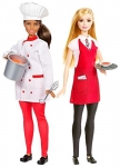 Barbie Careers Chef and Waiter Doll 2 Pack