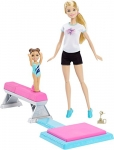 Barbie Careers Flippin Fun Gymnast Playset