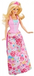 Barbie Doll with Outfits and Accessories for 3 Fairytale Characters
