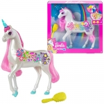 Barbie Dreamtopia Brush 'n Sparkle Unicorn with Lights and Sounds