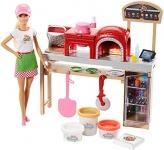 Barbie Pizza Maker Play Set & Doll