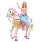 Barbie Princess Adventure Prance & Shimmer Horse and Barbie Princess Doll