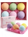 Anjou Scented Bath Bombs Gift Set, 6 x 4.0 oz