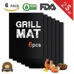 BBQ Grill Mat Set of 6