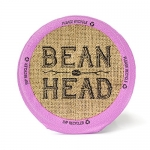 BEAN HEAD Premium Organic Single Serve Cups, 12 Count